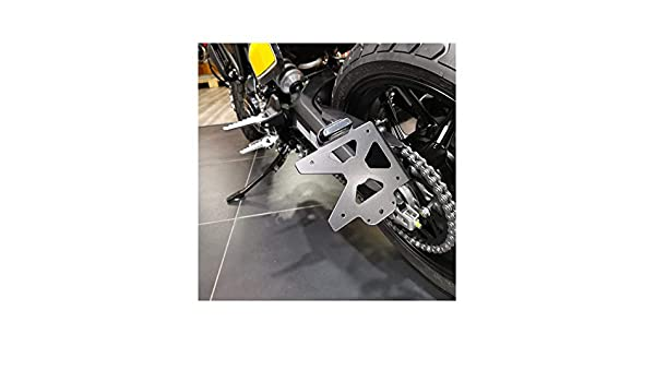 ACCESS DESIGN Support de Plaque lat/éral Noir Ducati Scrambler 1100