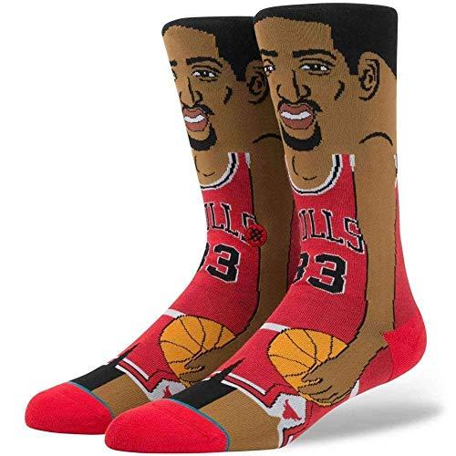 S,Pippen Socken red Größe: M Farbe: red