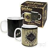 Harry Potter Marauder's Map Heat Changing Mug