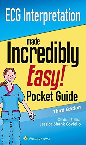 Ecg Interpretation: An Incredibly Easy Pocket Guide (incredibly Easy! Series®) por Lww