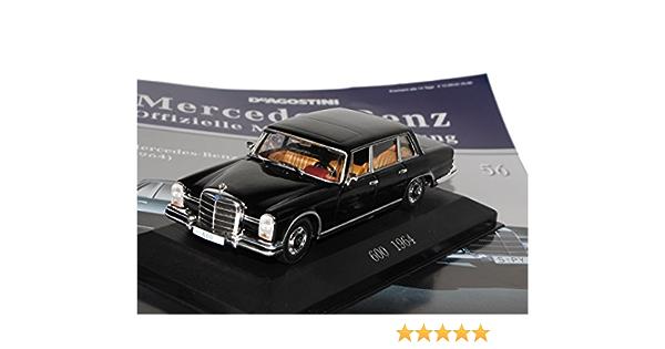 Ixo Mercedes Benz 600 Pullmann Limousine 1964 1981 W100 Inkl Zeitschrift Nr 56 1 43 Modell Auto Mit Individiuellem Wunschkennzeichen Spielzeug