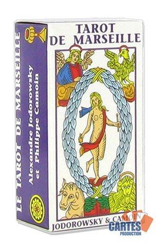 Jeu de 78 cartes : Mini Tarot de Marseille Camoin (petit format)