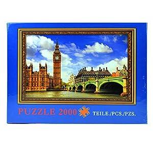 Gifts 4 All Occasions Limited SHATCHI-756 Big Ben rompecabezas de 2000 piezas para niños y adultos, regalo de cumpleaños, Navidad, Multi