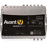 Televes Verstärker programmierbar AVANT9BASIC-S App,UKW,VHF,2UHF,SAT Terrestrischer Verstärker 8424450181522