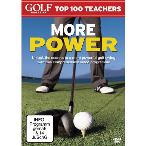 Preisvergleich Produktbild Golf Magazine Top 100 Teachers - More Power
