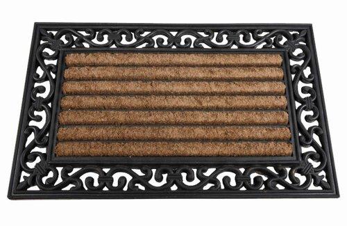 Felpudos Exteriores  de goma con fibra de coco (45 x 75 cm)