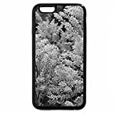 iPhone 6S Plus Case, iPhone 6 Plus Case (Black & White) - ASTILBE FLOWER