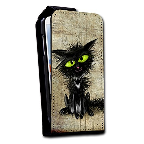 Flip Style vertikal Handy Tasche Case Schutz Hülle Foto Schale Motiv Etui für Apple iPhone 5 / 5S - V2 Design3 Design 7