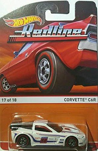 CORVETTE C6R (17 of 18) * Redlines / Heritage Series * 2015 Hot Wheels 1:64 Scale Die-Cast Vehicle by Mattel (Scale-2015 1 18 Diecast)