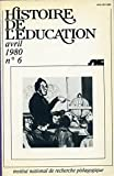 Lire le livre Histoire l'éducation n°6 L'éducation gratuit