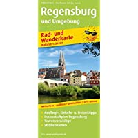 Regensburg und Umgebung: Rad- und Wanderkarte mit Ausflugszielen, Einkehr- & Freizeittipps, Innenstadtplan Regensburg…