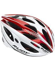 Casco de carretera Rudy Project Zumax rojo/blanco Contorno de la cabeza 59 - 61 cm 2016 Cascos bicicleta carretera