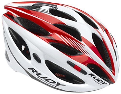Rudy Project Zumax Casco, White/Red Shiny, S/M