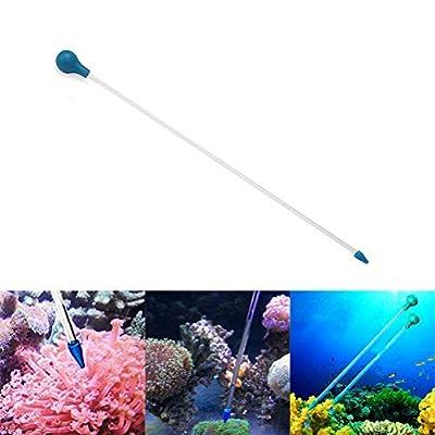 Aquarium Feeder, Aquarium Futterautomat, Spritzenschlauch für Aquarien mit wahlweiser Korallenfütterung für Riffe, Anemonen, Aale, Feuerfische
