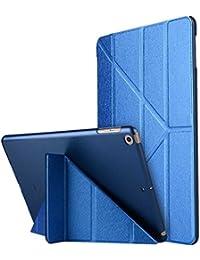 """Thrion Ultra Slim Función de Soporte Protectora Plegable Smart Cover [Auto-Desbloquear] [Botones Protegidos] Funda para Apple iPad Pro 9.7"""" - Azul (Auto Sueño/Estela)"""
