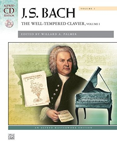 Bach -- The Well-Tempered Clavier, Vol 1: Comb Bound Book (Alfred Masterwork Edition)