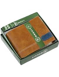 Brexit Tan Men's Leather Wallet (Br Tan Lupp Flap G)