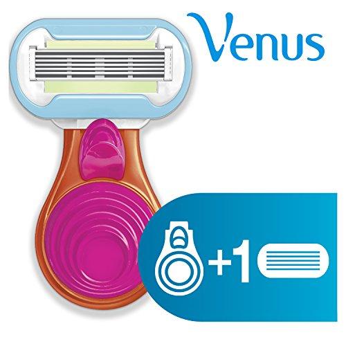 Gillette Venus Snap–rasoio da donna con tre lame rasoio Ricariche