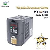 Frequenzumrichter (VFD),Computerized Numerical Control (CNC), der Motor Inverter Konverter 380V 2.2KW 3HP für Spindelmotor, Kontrolle der Geschwindigkeit, Huanyang HY –Serie (380V,2.2KW).