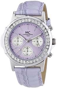 "MC Timetrend Damen-Armbanduhr ""Bella Chrono"" Chronograph Quarz Leder 11794"