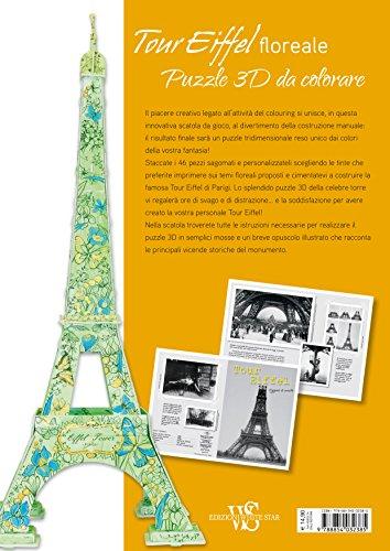 Tour-Eiffel-floreale-Puzzle-3D-da-colorare