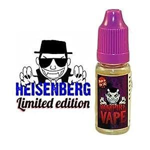 Vampire Vape - e-Liquide Heisenberg - 10 ml - 0 mg - Sans tabac ni nicotine - vente interdite aux moins de 18 ans