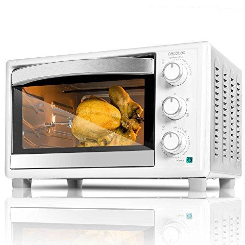 Cecotec Horno Conveccion Sobremesa Bake&Toast 690 Gyro. Capacidad de 30 litros, 1500 W, 5 Modos, Temperatura...