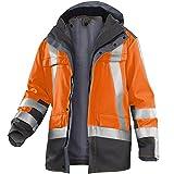 Kübler 19698420-3797-XS PSA Safety X Veste de travail Taille XS Orange/Anthracite