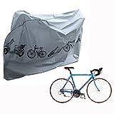 Cisixin Copertura per Bicicletta Impermeabile, Copribici Telo Protettivo antipolvere per Bici MTB Moto