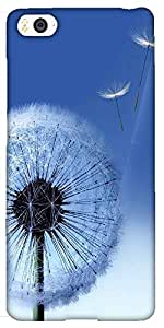 Snoogg Dandelions Hard Back Case Cover Shield for Xiaomi Mi4i/Mi4I