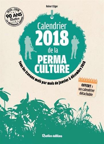 Calendrier 2018 de la permaculture