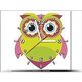 Art-Gallery XXL–30x 30cm–Lemon–diseño infantil–Reloj de pared cuadro–Deco moderno–New Design