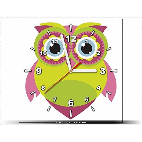 958509847fcf Art-Gallery XXL – 30 x 30 cm – Lemon – diseño infantil – Reloj de pared ...
