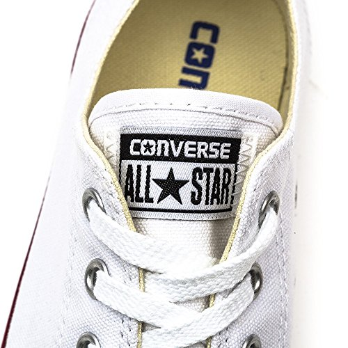 Converse CT As Dainty Ox White, Baskets Slip-On Femme Blanc (Blanc/Rouge)