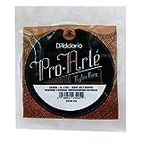 D'Addario J4504 Pro-Arte, cuerda individual de nailon para guitarra clásica, tensión normal, cuarta cuerda