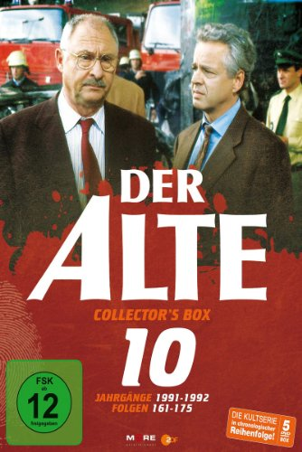 Der Alte - Collector's Box Vol. 10 (Folgen 161-175) [5 DVDs]