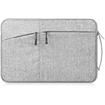 "Funda Bosa 10-15.6"" Pulgadas Sleeve Case Zipper con Múltiples Bolsillos Laterales para Portátil/Laptop/Notebook/Macbook/Chromebook"