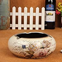 SSBY Crafts Decoration Ceramic Ashtray Ashtray Creative Crafts Home Furnishing Living Room