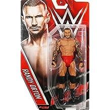 WWE RANDY ORTON RKO ROJO PANTALONES WWF MATTEL SERIE 60 BÁSICO ACTION LUCHA LIBRE FIGURA