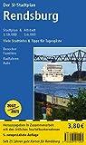 Stadtplan Region Rendsburg mit Übersichtskarte Nord-Ostsee-Kanal: Der Stadtplan Umfaßt die Gemeinden Borgstedt, Büdelsdorf, Fockbek, Rickert, ... eine Zusatzkarte des Nord-Ostsee-Kanals