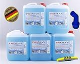 5 x 5 Liter Primax Flüssigwaschmittel blau mit einem Ausgiesser gratis Versandkostenfrei 27,99 Euro entprechen 1,12 Euro pro Liter.