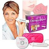 Takestop® Derma Wand herramienta de rejuvenecimiento de rostro, tratamiento antiarrugas, piel joven, con bolsa