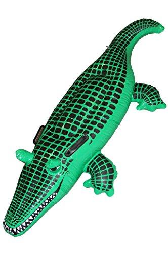 Smiffys, Aufblasbares Krokodil, Größe: ca. 140cm, Grün, (Der Frauen Toten Ideen Für Tag Kostüm Halloween)