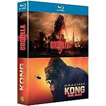 Godzilla + Kong : Skull Island - Coffret Blu-Ray