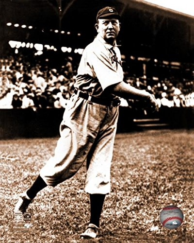Cy Young (1867-1955) Pitcher for The Cleveland Naps Lightly Tossing a Ball During warm-ups While Wearing his uniform Photo Print (40,64 x 50,80 (Ups Uniform)