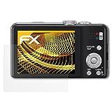 atFoliX Schutzfolie für Panasonic Lumix DMC-TZ31 Displayschutzfolie - 3 x FX-Antireflex blendfreie Folie