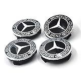Myhonour 4X Felgendeckel Nabenkappen mit Mercedes Benz Logo (3)