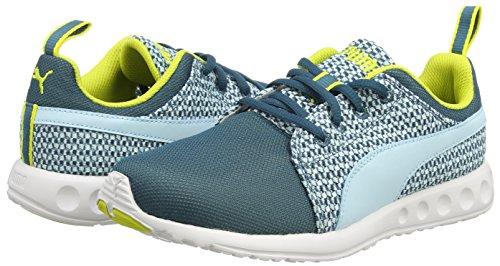 Puma - Carson Runner Knit Wn'S, Sneakers da donna Blu (Blau (clearwater-sulphur spring 01))