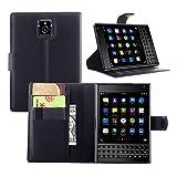 Guran Funda de Cuero para Blackberry Passport (Q30) Smartphone Tirón de la Cubierta de la Función de Ranura Tarjetas y Efectivo Caso