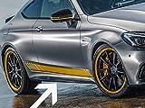 AMG Seiten Schürtze Leisten Coupe merc-c205-ssp-bk